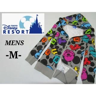 ディズニー(Disney)のメンズM◇DISNEY◇マルチカラーミッキーパーカー(パーカー)