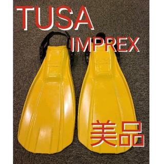 ツサ(TUSA)のTUSA IMPREXフィン スキューバダイビング シュノーケリング ツサ(マリン/スイミング)