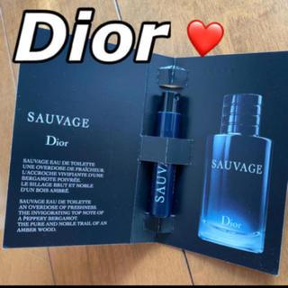 Christian Dior - ❤️ディオール オードゥトワレ ソヴァージュ サンプル 新品未使用 台紙付き