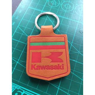 カワサキ(カワサキ)の当時物  Kawasaki カワサキ キーホルダー  非売品  2個セット(その他)