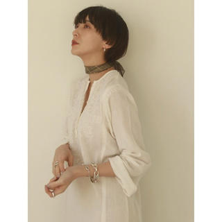 トゥデイフル(TODAYFUL)の即日配送 TODAYFUL  Embroidery Gauze Dress (ロングワンピース/マキシワンピース)