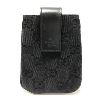 グッチ(Gucci)のグッチ 携帯電話ケース美品  GG柄 108794(モバイルケース/カバー)