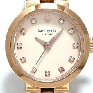kate spade new york - ケイト 腕時計 - 0921 レディース ベージュ