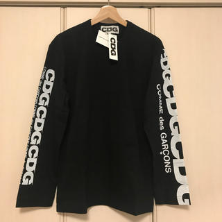 COMME des GARCONS - 送料込新品 コムデギャルソン エアラインロゴ ロングスリーブ 黒