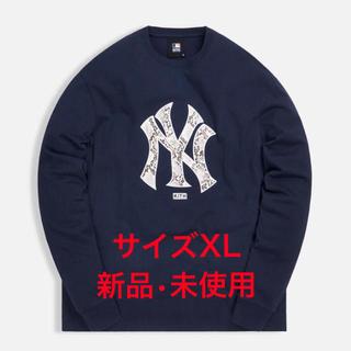 キース(KEITH)のKITH NEW YORK SNAKE LOGO L/S TEE NAVY XL(Tシャツ/カットソー(半袖/袖なし))