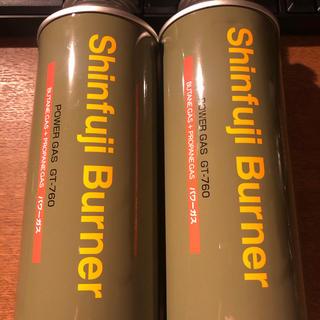 シンフジパートナー(新富士バーナー)の新富士バーナー ガス缶(ストーブ/コンロ)