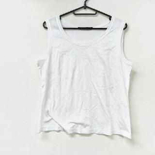 LEONARD - レオナール タンクトップ サイズLL美品  白