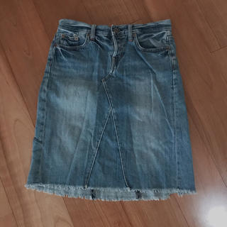 ギャップ(GAP)のGAP デニムタイトスカート(ひざ丈スカート)