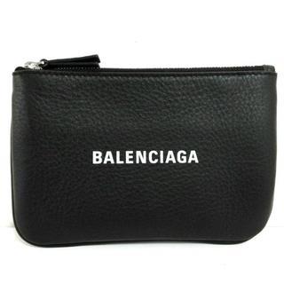 バレンシアガ(Balenciaga)のバレンシアガ ポーチ美品  - 551995 黒×白(ポーチ)