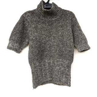イッセイミヤケ(ISSEY MIYAKE)のイッセイミヤケ 半袖セーター サイズM -(ニット/セーター)