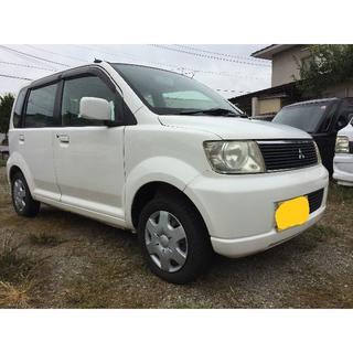 三菱 - 三菱 EKワゴン 4WD H14年 車検R3年2月21日 108000k 白