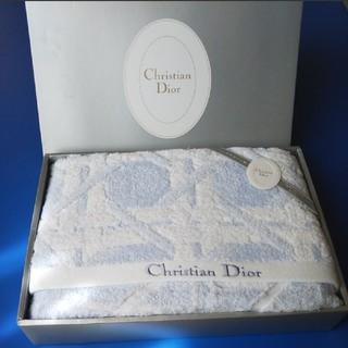 クリスチャンディオール(Christian Dior)のChristian Dior クリスチャン・ディオール 大判バスタオル(タオル/バス用品)