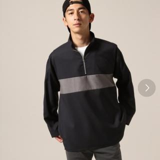RAGEBLUE - TRハーフZIPシャツ ネイビーMサイズ