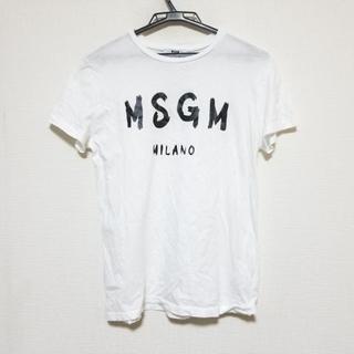 エムエスジイエム(MSGM)のエムエスジィエム 半袖Tシャツ レディース(Tシャツ(半袖/袖なし))
