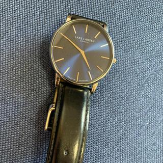 ダニエルウェリントン(Daniel Wellington)の腕時計 メンズ LARS LARSEN ラースラーセン エルラーセン(レザーベルト)