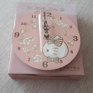 ハローキティ(ハローキティ)の新品壁掛け時計(掛時計/柱時計)