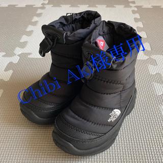 ザノースフェイス(THE NORTH FACE)のノースフェイス ヌプシ スノーブーツ 14cm  ブラック(ブーツ)