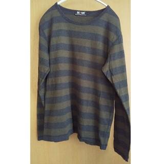 ビームス(BEAMS)のBEAMS ボーダー 長袖カットソー MEN'S  Sサイズ (Tシャツ/カットソー(七分/長袖))
