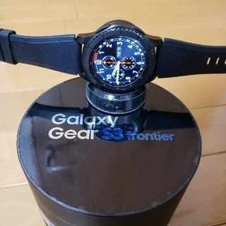 ギャラクシー(Galaxy)のGalaxy Gear S3 frontier ギャラクシー スマートウォッチ(腕時計(デジタル))