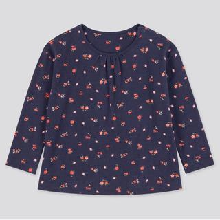 ユニクロ(UNIQLO)のユニクロ JOY OF PRINTクルーネックT 100(Tシャツ/カットソー)