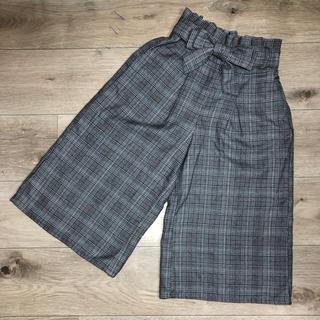 イッカ(ikka)の専用*ワイドパンツ&チェックスカート(パンツ/スパッツ)