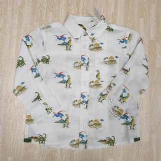 キャスキッドソン(Cath Kidston)のキャスキッドソン 恐竜 長袖シャツ 1-2歳(Tシャツ/カットソー)