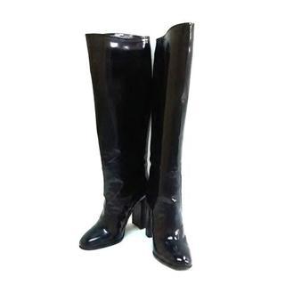 ボッテガヴェネタ(Bottega Veneta)のボッテガヴェネタ ロングブーツ 35 黒(ブーツ)