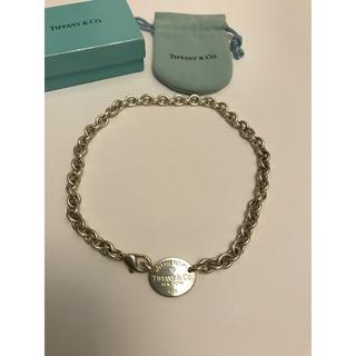 ティファニー(Tiffany & Co.)のティファニー リターントゥー チョーカー AB5(ネックレス)