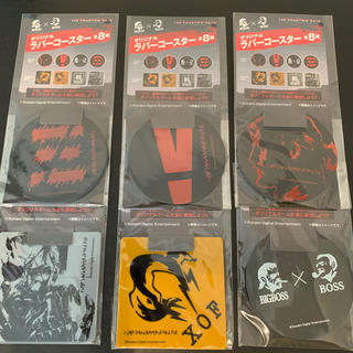 プレイステーション4(PlayStation4)のメタルギア ソリッド オリジナルラバーコースター 6枚セット(その他)