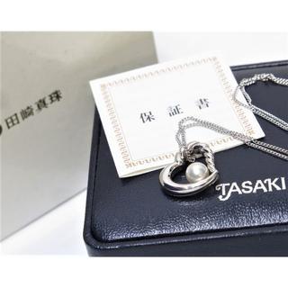 タサキ(TASAKI)の田崎真珠 シルバー ネックレス ペンダント (保証書付き) TASAKI(ネックレス)