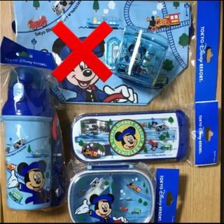 ミッキーマウス - 新品 ディズニーリゾート限定 ミッキーコップ カトラリー お弁当箱 水筒