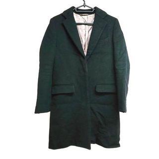 ドゥーズィエムクラス(DEUXIEME CLASSE)のドゥーズィエム コート サイズ36 S 黒 冬物(その他)