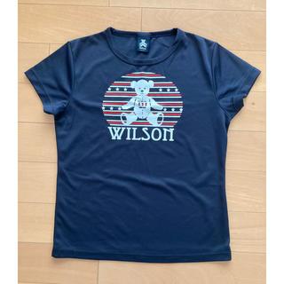 ウィルソン(wilson)のWilson ウィルソン Tシャツ レディース ウィルソンベア テニス(Tシャツ(半袖/袖なし))