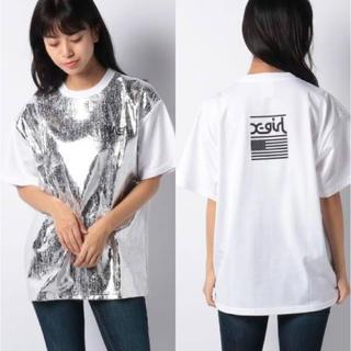 エックスガール(X-girl)のxgirl NASA 新品自宅保管Tシャツ(Tシャツ/カットソー(半袖/袖なし))