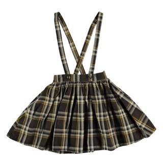 Caramel baby&child  - tocoto vintage チェック吊りスカート