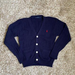 ラルフローレン(Ralph Lauren)の【Ralph Lauren】 カーディガン 子供服 110cm ネイビー(カーディガン)