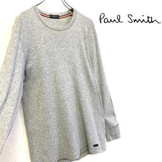 ポールスミス(Paul Smith)の美品 Paul Smith 長袖Tシャツ メンズL グレー(Tシャツ/カットソー(七分/長袖))