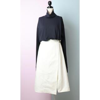マカフィー(MACPHEE)のMACPHEE マカフィー 巻きスカート 38(ロングスカート)
