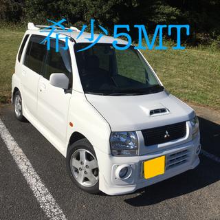 ミツビシ(三菱)の三菱トッポBJ Rターボ 5MT 車体 軽自動車(車体)