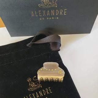アレクサンドルドゥパリ(Alexandre de Paris)のアレクサンドルドゥパリ ヘアクリップ 4.5㎝(バレッタ/ヘアクリップ)