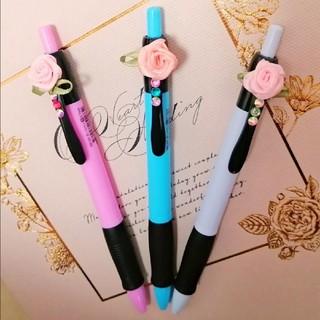 handmade♡薔薇のボールペン 0.7mm(その他)