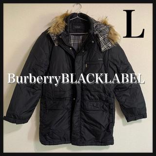 バーバリーブラックレーベル(BURBERRY BLACK LABEL)のa157【美品】バーバリーブラックレーベル ダウンジャケット(ダウンジャケット)