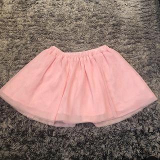 ベビーギャップ(babyGAP)のGAP 2才 95センチ チュールスカート ピンク ハロウィン パーティー(スカート)