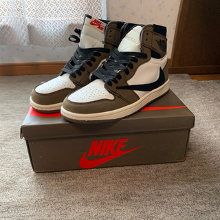 ナイキ(NIKE)の専用 NIKE AIR JORDAN 1 travis scott 26cm(スニーカー)