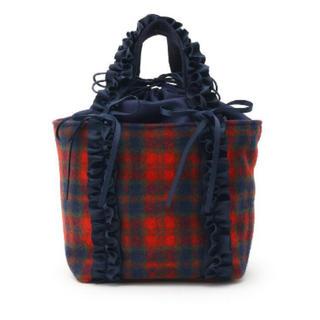クチュールブローチ(Couture Brooch)のれま様専用 ウールチェックトートバッグ(トートバッグ)
