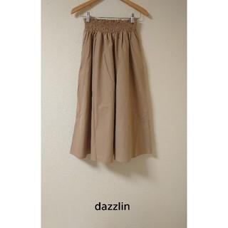 ダズリン(dazzlin)のタグ付き新品! ウエストシャーリングロングスカート 6,372円(ロングスカート)