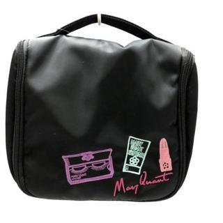 マリークワント(MARY QUANT)のマリークワント バッグ 黒×マルチ 刺繍(その他)
