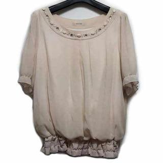 ローズティアラ(Rose Tiara)のローズティアラ 半袖カットソー サイズ42 L(カットソー(半袖/袖なし))