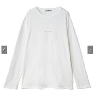 グレイル(GRL)のGRL グレイル クールネック ロンT(Tシャツ(長袖/七分))
