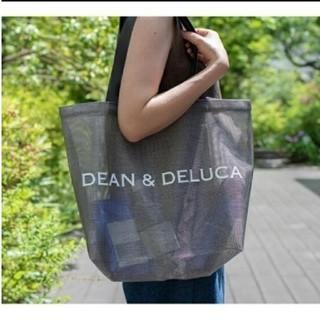 ディーンアンドデルーカ(DEAN & DELUCA)の美品 ディーンアンドデルーカ メッシュ トートバッグ L(トートバッグ)